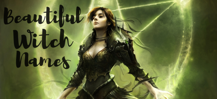 50+ Funny & Scary Witch Names