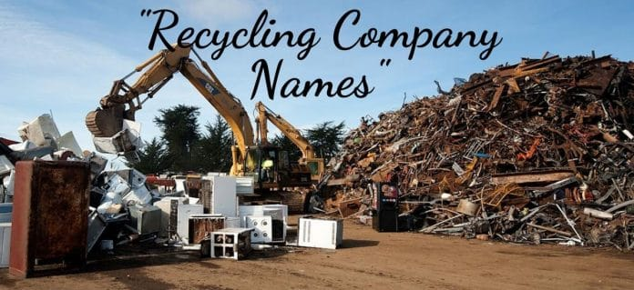 150+ Catchy & Unique Recycling Company Names
