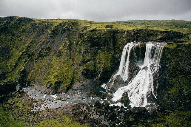 while in Iceland